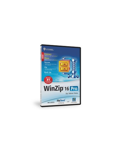Corel WinZip 16 Pro, 100000+u Corel LCWZ16PROMLN - 1