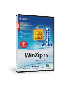 Corel WinZip 16 Standard, 100000+u, UPG Corel LCWZ16STDMLUGN - 1