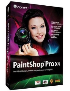 Corel PaintShop Pro X4, EDU, ML, DVD Corel PSPX4MLDVDAEU - 1
