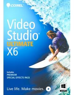 Corel VideoStudio Ultimate X6, WIN, x32, CD, mini-Box, DUT/ITA/FRE Corel VSPRX6ULNIFMBEU - 1