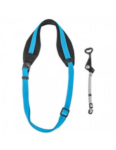 Pacsafe Carrysafe 150 hihna Digitaalikamera Neopreeninen, Polypropeeni (PP) Sininen Pacsafe 15281616 - 5