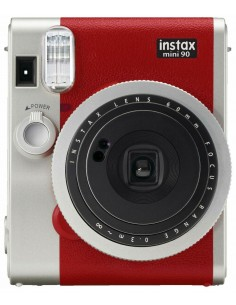Fujifilm instax mini 90 Neo Classic 62 x 46 mm Red,Stainless steel Fujifilm 16629377 - 1