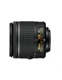 Nikon AF-P DX NIKKOR 18-55mm f/3.5-5.6G VR SLR Black Nikon JAA826DA - 1