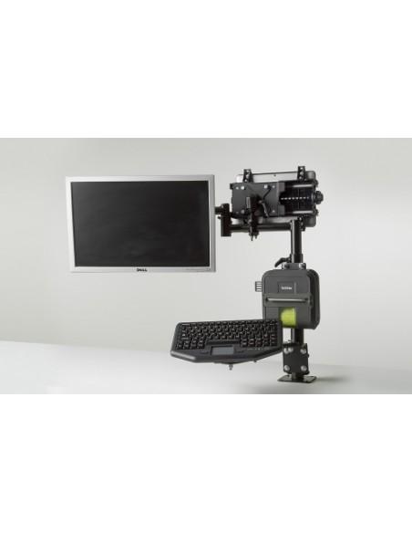 Gamber-Johnson 7170-0590 monitor mount / stand Screws Black Gjohnson 7170-0590 - 5