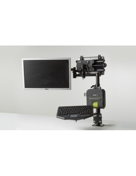 Gamber-Johnson 7170-0590 monitorin kiinnike ja jalusta Ruuvit Musta Gjohnson 7170-0590 - 5