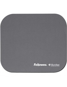 Fellowes Microban Mouse Pad Silver Fellowes 5934005 - 1