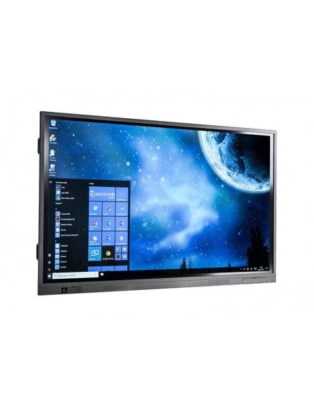 """Avocor E7510 190.5 cm (75"""") LED 4K Ultra HD Kosketusnäyttö Interaktiivinen litteä paneeli Musta Avocor E-7510 - 3"""