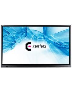 "Avocor E8610 2.18 m (86"") LED 4K Ultra HD Touchscreen Interactive flat panel Black Avocor E-8610 - 1"