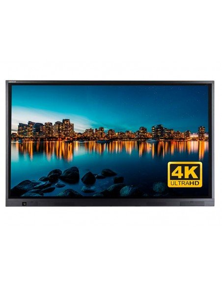 """Avocor E8610 2.18 m (86"""") LED 4K Ultra HD Kosketusnäyttö Interaktiivinen litteä paneeli Musta Avocor E-8610 - 3"""