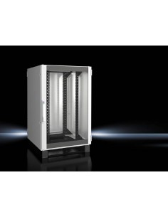 Rittal 5503.151 rack cabinet 24U Freestanding Black, Gray Rittal 5503151 - 1