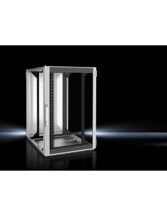 Rittal 5504.131 rack cabinet 24U Freestanding Black, Gray Rittal 5504131 - 1