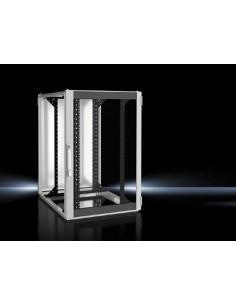 Rittal 5504.141 rack cabinet 24U Freestanding Black, Gray Rittal 5504141 - 1