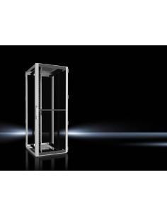 Rittal 5507.110 rack cabinet 42U Freestanding Black, Gray Rittal 5507110 - 1