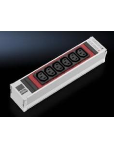 Rittal DK 7856.082 jatkojohto 6 AC-pistorasia(a) Sisätila Alumiini, Punainen Rittal 7856082 - 1