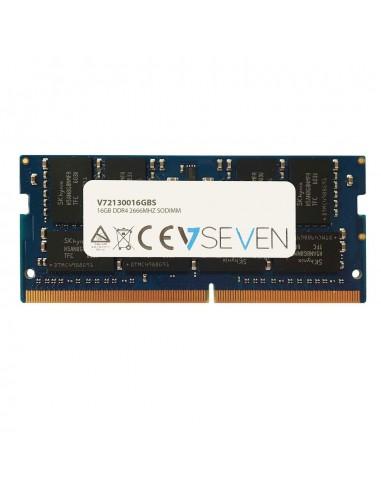 V7 V72130016GBS muistimoduuli 16 GB 1 x DDR4 2666 MHz V7 Ingram Micro V72130016GBS - 1