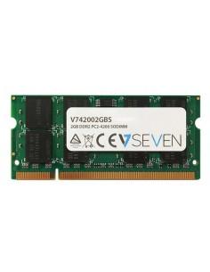 V7 2GB DDR2 PC2-4200 533Mhz SO DIMM Notebook Memory Module - V742002GBS V7 Ingram Micro V742002GBS - 1