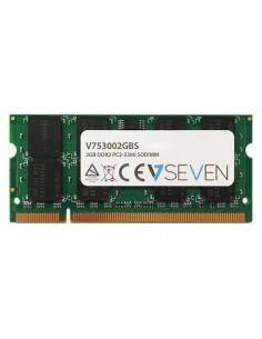V7 2GB DDR2 PC2-5300 667Mhz SO DIMM Notebook Memory Module - V753002GBS V7 Ingram Micro V753002GBS - 1