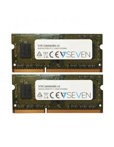 V7 V7K128008GBS-LV muistimoduuli 8 GB 2 x 4 DDR3 1600 MHz V7 Ingram Micro V7K128008GBS-LV - 1
