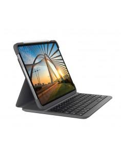 Logitech Slim Folio Pro mobiililaitteiden näppäimistö QWERTZ Saksa Grafiitti Bluetooth Logitech 920-009704 - 1