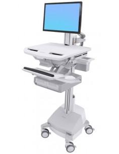 Ergotron SV44-13A1-C multimedialaitteiden kärry ja teline Harmaa Litteä paneeli Multimediakärry Ergotron SV44-13A1-C - 1