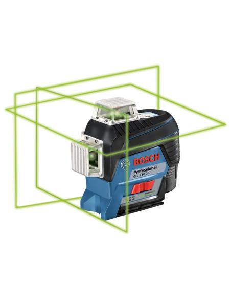 Bosch GLL 3-80 CG Professional Linjelaser 30 m 500-540 nm (< 10mW) Bosch 0601063T00 - 2