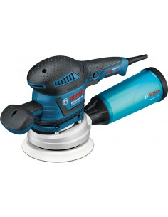 Bosch 0 601 37B 101 portable sander Orbital 12000 RPM 24000 OPM Black, Blue Bosch 060137B101 - 1
