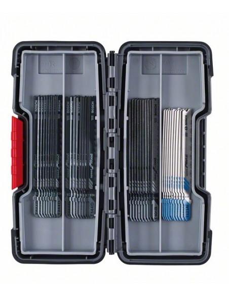 Bosch 2 607 010 904 sågblad till sticksåg, dekupörsåg och tigersåg Figursågblad 40 styck Bosch 2607010904 - 2