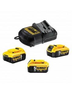 DeWALT DCB115P3-QW Ajoneuvon akkulaturi Musta, Keltainen Dewalt DCB115P3-QW - 1