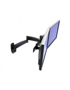 "Ergotron 200 Series Dual Monitor Arm 55.9 cm (22"") Musta Ergotron 45-231-200 - 1"