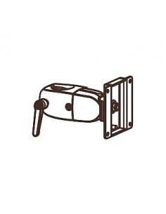 "Ergotron DS Series DS100 Clamping Single Pivot 76.2 cm (30"") Black Ergotron 47-058-200 - 1"