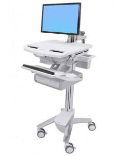 Ergotron StyleView White Flat panel Multimedia cart Ergotron SV43-12A0-0 - 1