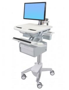 Ergotron StyleView Grey Flat panel Multimedia cart Ergotron SV43-12B0-0 - 1