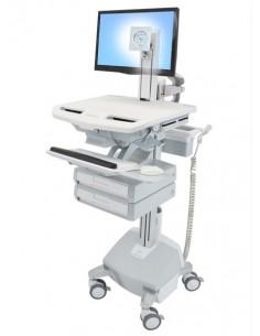 Ergotron StyleView Aluminium, Grey, White Flat panel Multimedia cart Ergotron SV44-1322-2 - 1