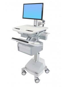 Ergotron StyleView Valkoinen Litteä paneeli Multimediakärry Ergotron SV44-13B1-2 - 1