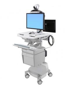 Ergotron StyleView Valkoinen Litteä paneeli Multimediakärry Ergotron SV44-57T1-2 - 1