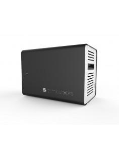 Compulocks ChargeBox Vapaasti seisova Alumiini Musta Maclocks CHRGBOX10B-EU - 1
