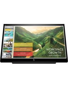 "HP EliteDisplay S14 35.6 cm (14"") 1920 x 1080 pikseliä Full HD LED Musta Hp 3HX46AA#AC3 - 1"