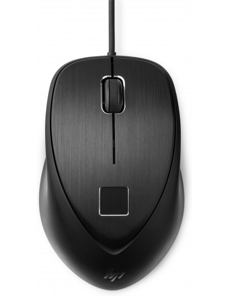 HP USB Fingerprint mouse Ambidextrous Type-A Hp 4TS44AA - 4