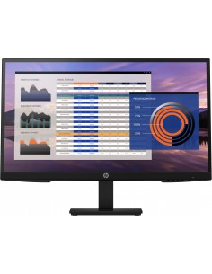 "HP P27h G4 68.6 cm (27"") 1920 x 1080 pixels Full HD IPS Hp 7VH95AA#ABB - 1"