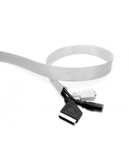 Multibrackets 1646 kabelsamlare Kabelstrumpa Silver 1 styck Multibrackets 7350022731646 - 2
