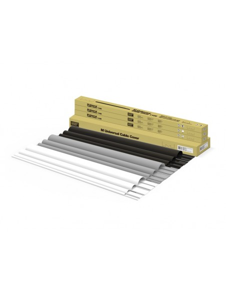 Multibrackets M Universal Cable Cover Black 80mm-W 1600-L Multibrackets 7350022732179 - 8