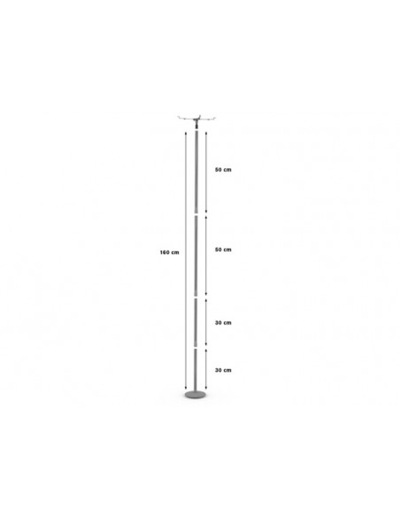 Multibrackets M Universal Projector Ceilingmount IIII 400-1700mm Multibrackets 7350022732544 - 3