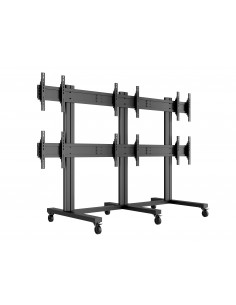 "Multibrackets M Public Video Wall Stand 6-Screens 40-55"" Black Multibrackets 7350022739727 - 1"