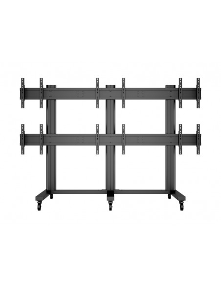 "Multibrackets M Public Video Wall Stand 6-Screens 40-55"" Black Multibrackets 7350022739727 - 2"