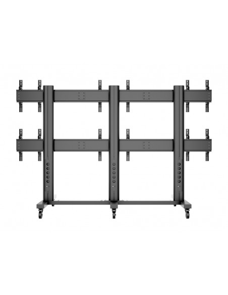 "Multibrackets M Public Video Wall Stand 6-Screens 40-55"" Black Multibrackets 7350022739727 - 4"