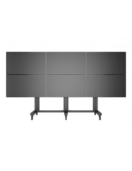 "Multibrackets M Public Video Wall Stand 6-Screens 40-55"" Black Multibrackets 7350022739727 - 8"