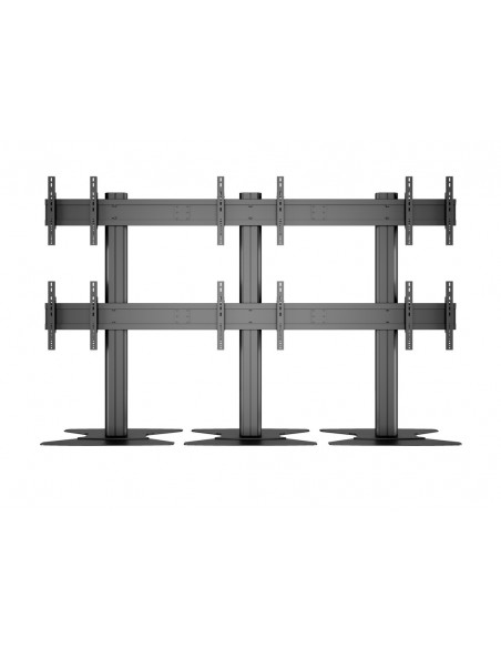 "Multibrackets M Public Video Wall Stand 6-Screens 40-55"" Black Multibrackets 7350022739727 - 14"