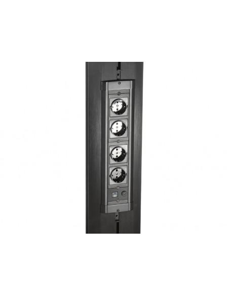 """Multibrackets 9727 kyltin näyttökiinnike 139.7 cm (55"""") Musta Multibrackets 7350022739727 - 20"""