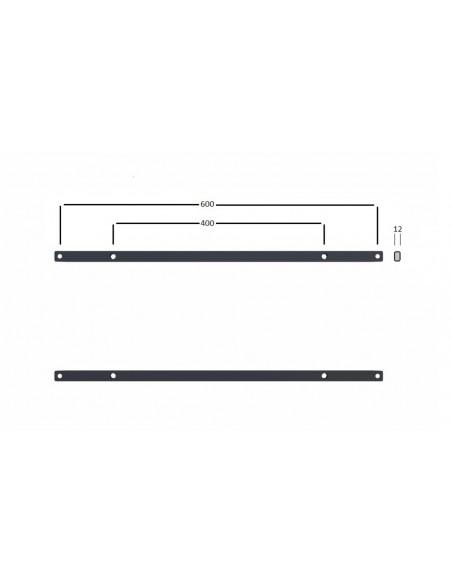 Multibrackets M Extender kit Push HD 600x400 Multibrackets 7350073730575 - 6