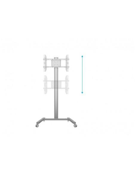 """Multibrackets 0636 kyltin näyttökiinnike 160 cm (63"""") Hopea Multibrackets 7350073730636 - 9"""